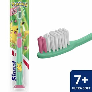Signal Toothbrush for Kids 7 Years Ultra Soft Assorted Color 1pc