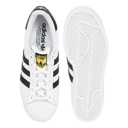 Adidas Super Star Unisex Shoe C77153 White,37.5