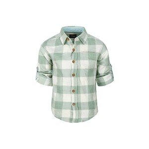 Eten Boys Shirt Long Sleeve BLD-304 Green 3-14Y