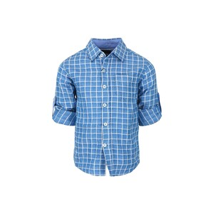 Eten Boys Shirt Long Sleeve BLD-308 Blue 3-14Y