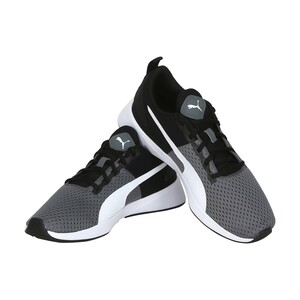 Puma Men's Sports Shoe  193450 03 FLYER RUNNER Sports Black/White