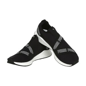 Puma Men's Sports Shoe 193917 04 NRGY STAR SLIP ON MESH Black/White