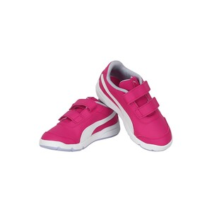 Puma Girls Sports Shoes 19252215 STEPFLEEX Rose White Purple