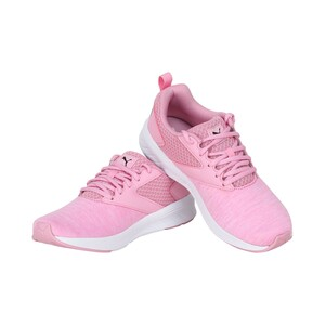 Puma Girls Sports Shoes 19067519 NRGY COMET JR Pale Pink Black White