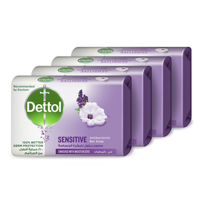 Dettol Anti-Bacterial Bar Soap Sensitive 4 x 120g