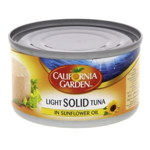 California Garden Light Solid Tuna In Sunflower Oil 100g