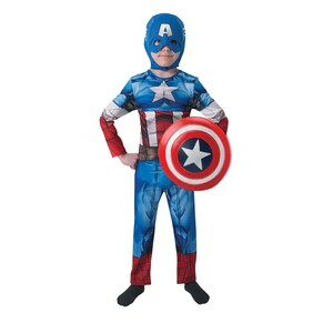 Avengers Captin America Costume For Boys 620551-M