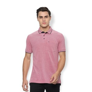 Van Heusen Men's Polo T Shirt Short Sleeve VSKPLRGP506846 Red