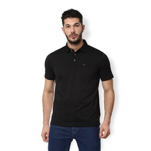 Van Heusen Men's Polo T Shirt Short Sleeve VSKPLRGBA63560 Black