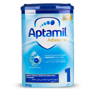 Aptamil Infant Formula Advance 1 From 0-6 Months 900g