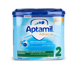Aptamil Follow On Formula Advance 2 From 6-12 Months 400g