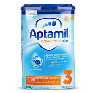 Aptamil Growing Up Formula Advance Junior 3 From 1-3 Years 900g