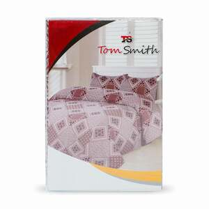 Tom Smith Bed Sheet Size: 150x240cm + Pillow Cover