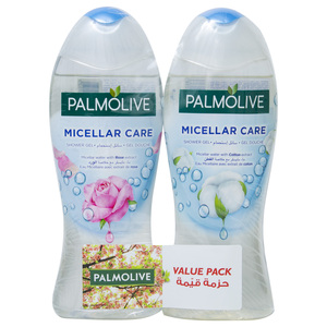 Palmolive Micellar Care Shower Gel Assorted 2 x 500ml