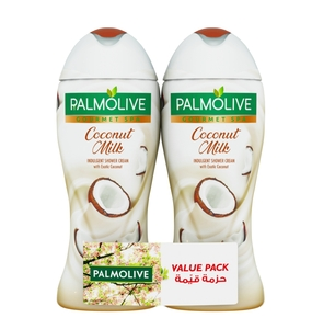 Palmolive Gourmet Spa Coconut Milk Shower Gel 2 x 500ml