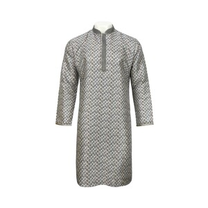 Men's Long Sleeve Kurta Printed L519LK11B