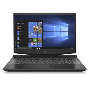 "HP Gaming Notebook Power Pavilion 15-DK1001NE,15.6"" Screen,10th Gen Intel® Core™ i7-10750H,16GB DDR4,256GB SSD + 1TB HDD, GTX 1650Ti 4GB, Windows10,Black"