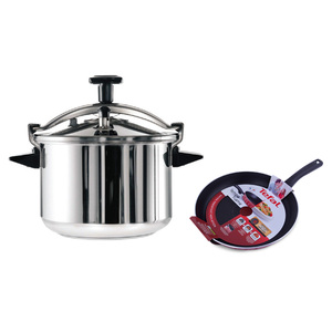 Tefal Pressure Cooker Authentic 10Ltr + Tefal Tempo Fry Pan28cm
