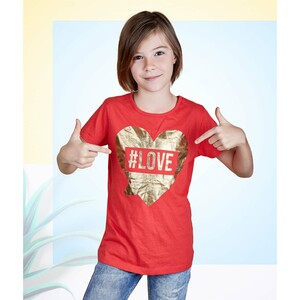 Eten Girls Valentines Day Tees GTVJ003 9-16Y