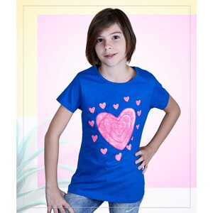 Eten Girls Valentines Day Tees GTVJ005 9-16Y