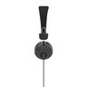 "Hama ""Fun4Phone"" headphones (184016), on-ear, microphone, cable guide on one side,Black"