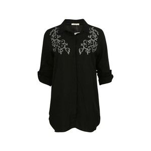 Eten Womens Top Long Sleeve TRK-5 Black