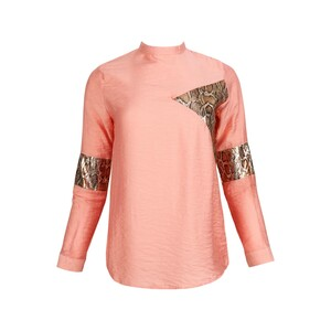 Eten Womens Top Long Sleeve TRK-12 Pink