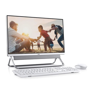 "Dell All-in-One Desktop-5400-INS-6000-SLV-Corei7-1165G7,16GBRAM,1TB HDD,256 GB SSD,23.8"" FHD Touch Display,Windows 10,Silver"
