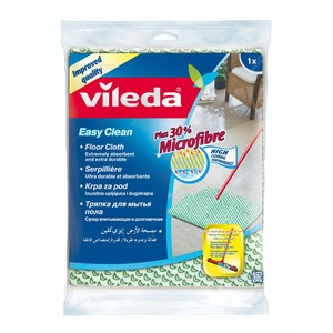 Vileda Floor Cloth Easy Clean Cleaning and Drying Cloth 1pc