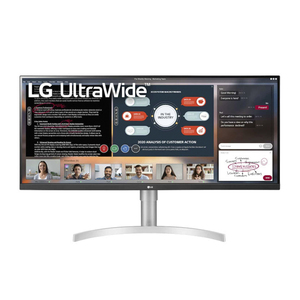 LG 34WN650W 34'' 21:9 IPS HDR WFHD 3-Side Virtually Borderless Monitor