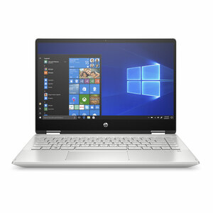 "HP Pavilion x360 Convertible 14-dh1052ne, Intel® Core™ i3-10110U, 14"" FHD, 4GB RAM, 256GB SSD, Intel® UHD Shared Graphics, Windows 10, Silver"