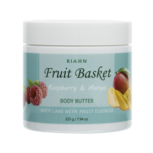 Riahn Fruit Basket Raspberry & Mango Body Butter Jar 225g