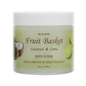 Riahn Fruit Basket Coconut & Lime Body Scrub Jar 225g
