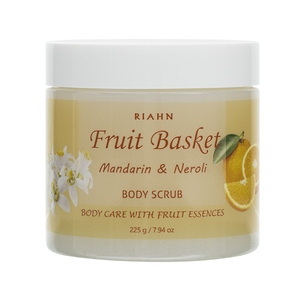 Riahn Fruit Basket Mandarin & Neroli Body Scrub Jar 225g