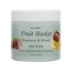Riahn Fruit Basket Raspberry & Mango Body Scrub Jar 225g