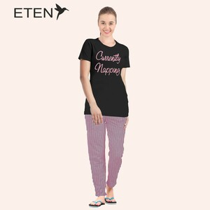 Eten Women's Pyjama Set Short Sleeve VJ 21-13