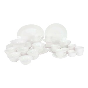 Cello Dinner Set Imperial White 50pcs