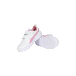 Puma Girls Sports Shoe 371543 11 White Pale Pink