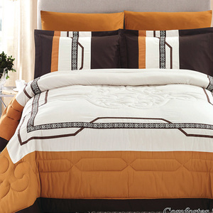 Focus Comforter King 6pc Set AT05Assorted Colors & Designs