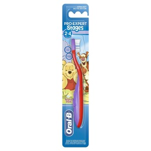 Oral-B Stages 2 (2 - 4 years) Manual Kids Toothbrush Assorted Color