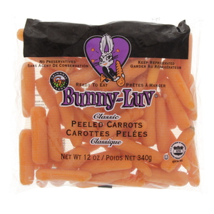 Baby Carrots Peeled USA 340g
