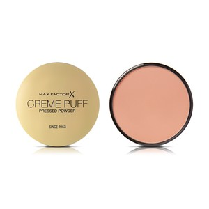 Max Factor Creme Puff Pressed Compact Powder 055 Candle Glow 1pc