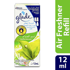 Glade Air Freshener Touch & Fresh Refill Morning Freshness 12ml