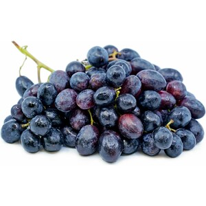 Black Grapes Chile 1kg Approx. Weight