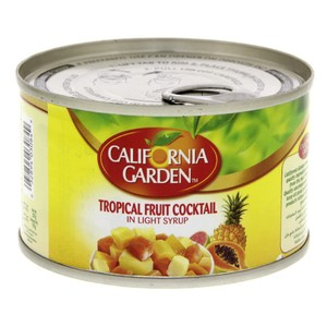 California Garden Canned Tropical Fruit Cocktail In Light Syrup 227g