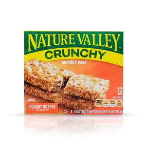 Nature Valley Crunchy Granola Bars  Peanut Butter 12 Bars 253g