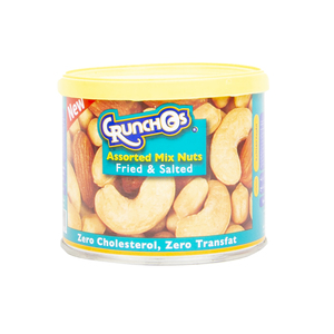 Crunchos Assorted Mix Nuts Fried & Salted 100g