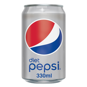 Diet Pepsi Carbonated Soft Drink Cans 330ml