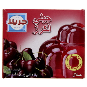Greens Jelly Cherry 80 Gm