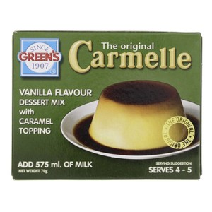 Green's Vanilla Flavour Desert Mix With Caramel Topping 70 Gm